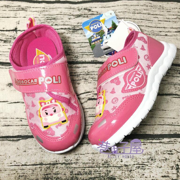 【限量出清】救援小隊 POLI波力 安寶造型運動休閒鞋 [61403] 粉 MIT台灣製造 超值價$198