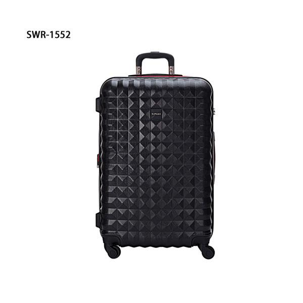 【加賀皮件】SUMDEXCLEO多色可擴充加大PC菱格行李箱25吋旅行箱SWR-1552