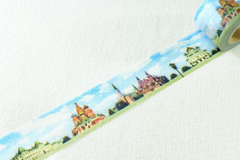 ~小徑文化~ 和紙膠帶 Mark  ^#27 s maste系列 ~ 世界的街道  俄羅斯
