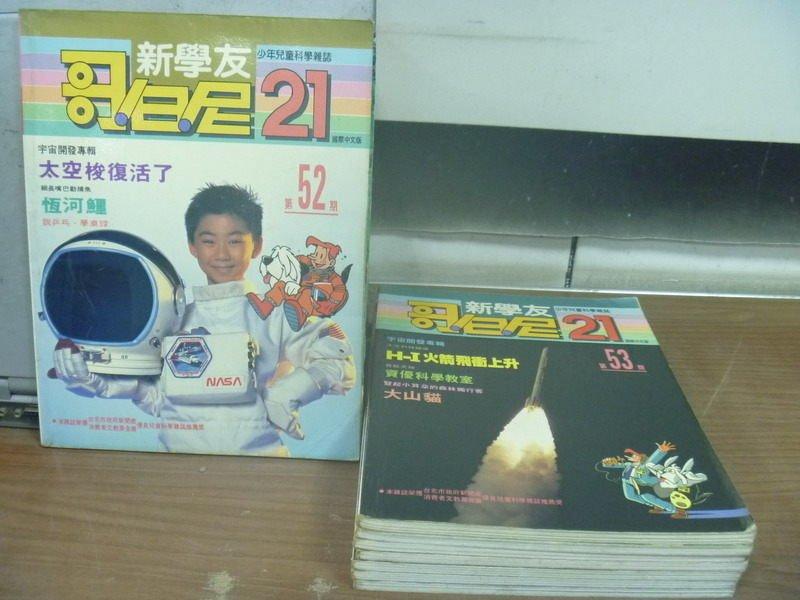 【書寶二手書T9/雜誌期刊_RHB】哥白尼_52~60期_共8本合售_太空梭復活了_H-I火箭飛衝上升等