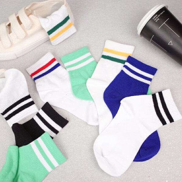 PGS7人氣系列商品-韓系School學院風運動襪中筒襪襪子【SPZ80032】