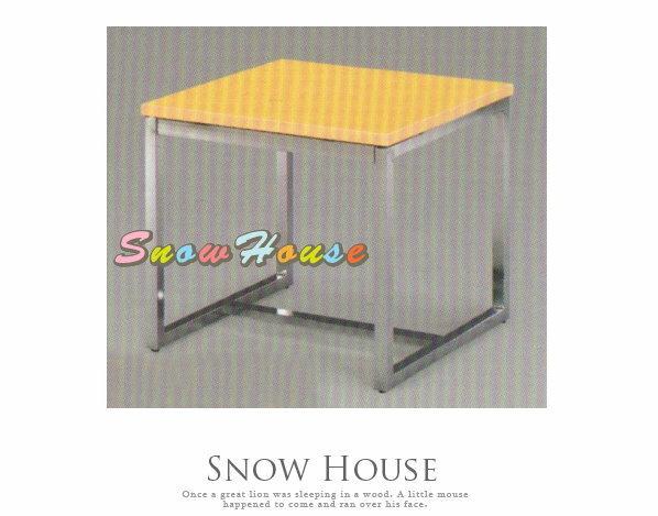 ╭~雪之屋居家 館~╯A382~10 電鍍腳杜邦小茶几 餐桌 茶桌 咖啡桌 置物桌^~^~