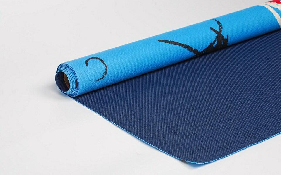 【 rubber anne 】天然橡膠瑜珈墊 --- 宇宙 1.5mm 瑜珈舖巾