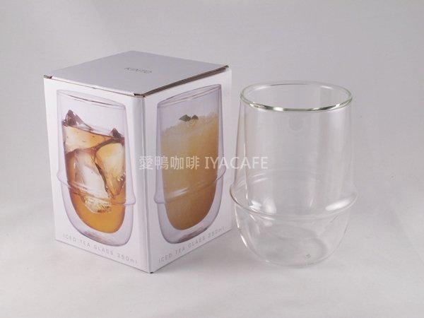 《愛鴨咖啡》日本 KINT0 23106 雙層玻璃隔熱杯350ml