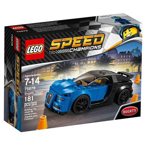 樂高積木 LEGO《 LT75878 》SPEED CHAMPIONS 系列 - Bugatti Chiron