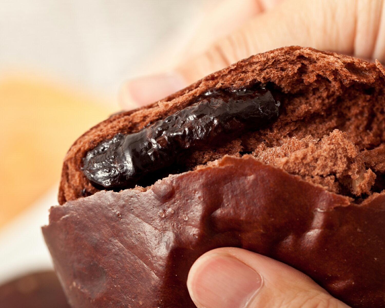 爆漿巧克力饅頭 1