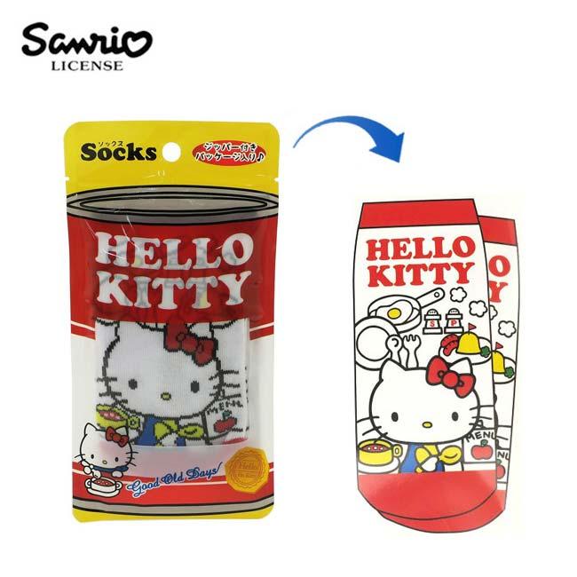 【日本正版】凱蒂貓 棉質 短襪 及踝襪 襪子 棉襪 Hello Kitty 三麗鷗 Sanrio - 443177