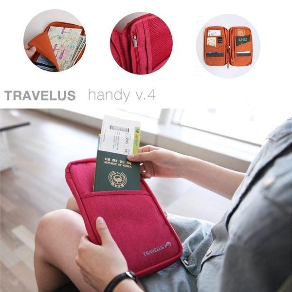 Life365:韓國旅行手拿包護照夾長夾小飛機多功能帆布旅行長短款化妝包收納包行李箱【RB378】