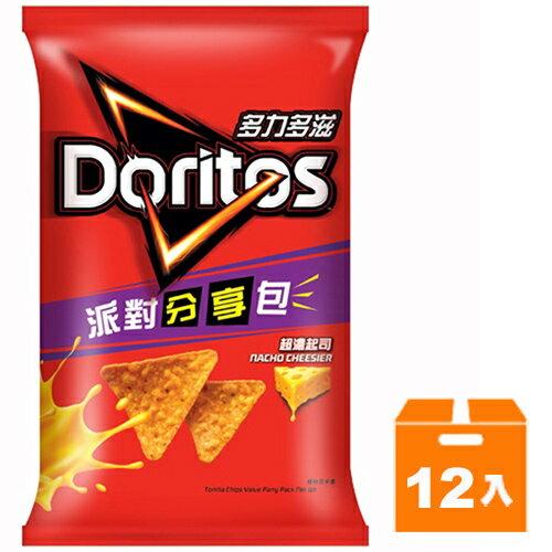 多力多滋 超濃起司口味玉米片 派對分享包 188g (12入)/箱