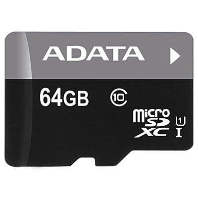 *╯新風尚潮流╭*威剛記憶卡 64GB microSDXC UHS-I U1 AUSDX64GUICL10-RA1
