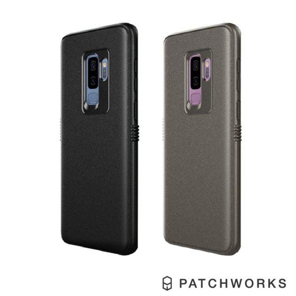 【愛瘋潮】PatchworksSamsungS9Plus鋁合金鏡頭軍規防摔手機手機殼保護套