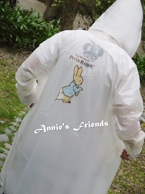 《Annie's Friends》Peter Rabbit 比得兔珠光雨衣