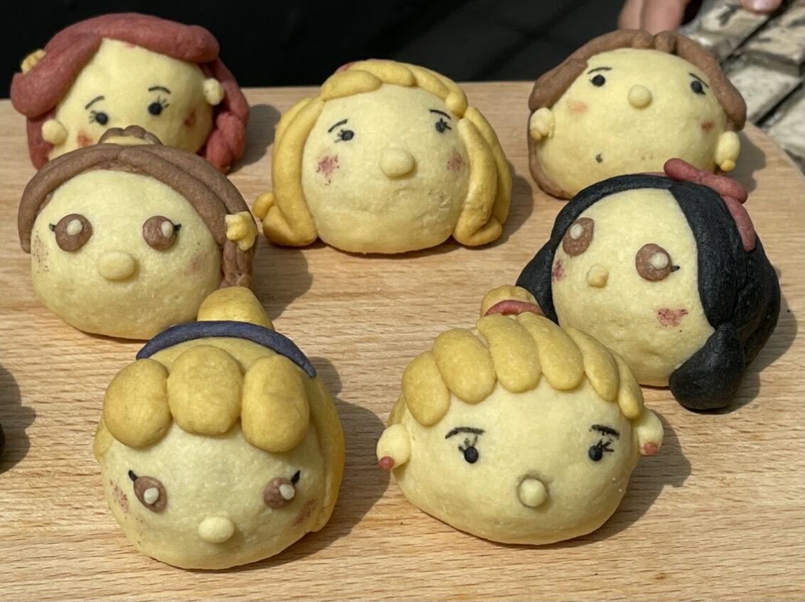 「甜食朋友」公主造型鳳梨酥 春節禮盒 中秋禮盒 同樂會 慶生會 婚禮小物 4入裝