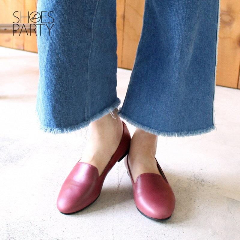 【C2-17916L】素面牛皮歐貝拉_Shoes Party 3