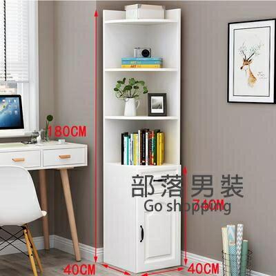 邊角櫃 角櫃牆角櫃三角形轉角拐角置物架現代簡約客廳臥室角落邊角收納櫃T