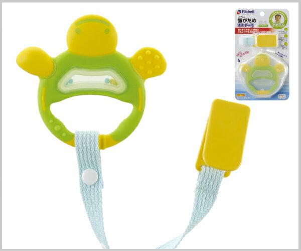Richell利其爾 - 固齒器 翠綠色手指型 (附固定夾) 6
