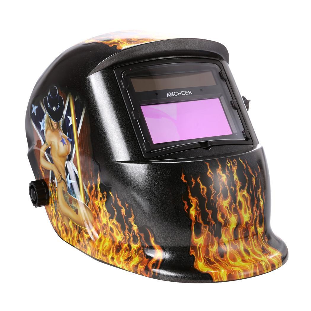 Solar Arc Tig Mig Auto-Darkening Welding Helmet Professional Mask 0