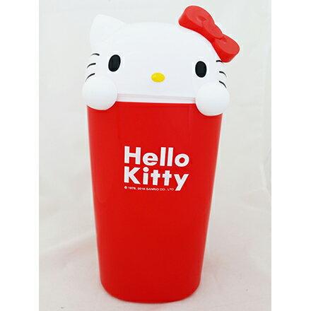 [敵富朗超市]HELLO KITTY造型垃圾桶