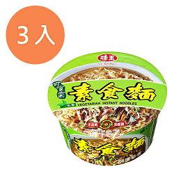 味王 巧食齋 素食麵 83g (3碗入)/組