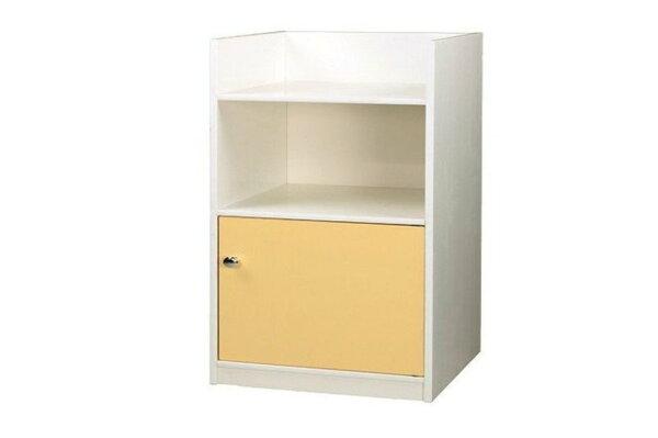 【石川家居】928-01(鵝黃白色)置物櫃(CT-826)#訂製預購款式#環保塑鋼P無毒防霉易清潔