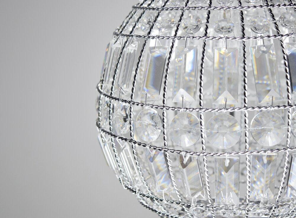 鍍鉻水晶圓形吊燈-BNL00104 6