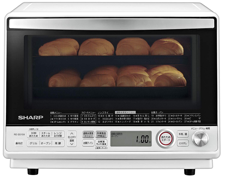 日本公司貨  SHARP  夏普 水波爐烤箱 RE-SS10X 31L 2段調理 日本必買代購