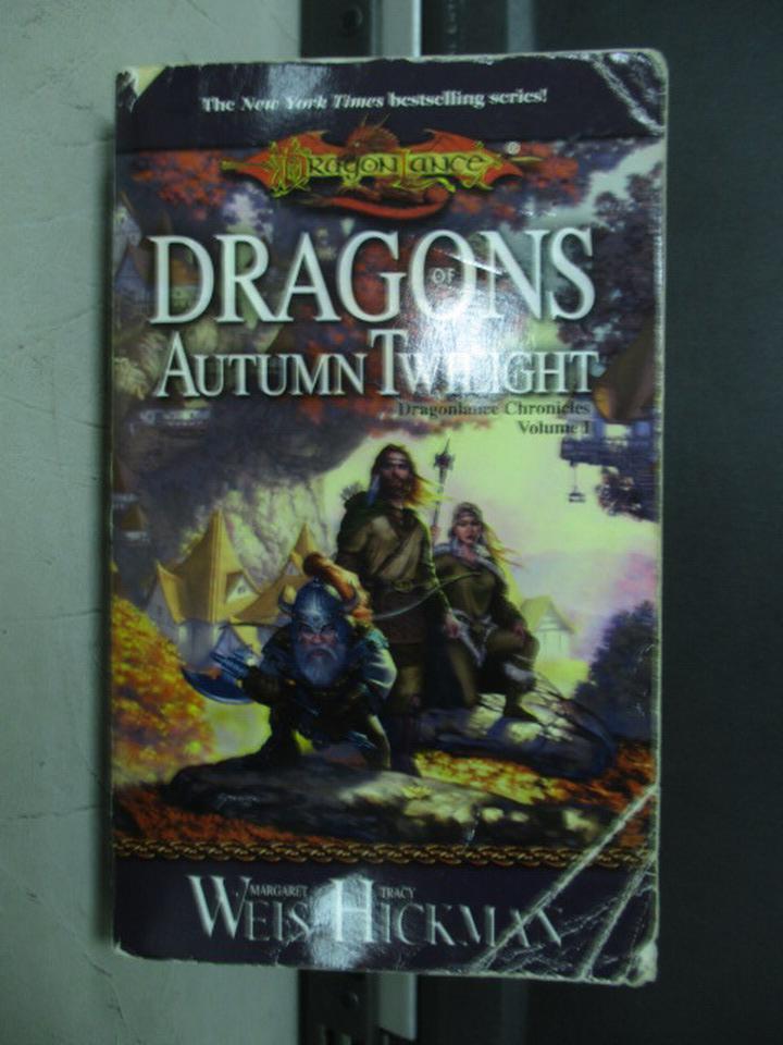【書寶二手書T2/原文小說_NEU】Dragons of Autumn Twilight