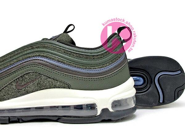 [15% OFF] 2017 NSW 經典復刻慢跑鞋 NIKE AIR MAX 97 PREMIUM WOOL 深綠 羊毛 全氣墊 子彈 慢跑鞋 '97 1997 (312834-300) ! 3