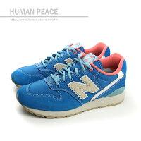 New Balance 美國慢跑鞋/跑步鞋推薦NEW BALANCE 996系列 潮流 復古鞋 藍 女款 no682