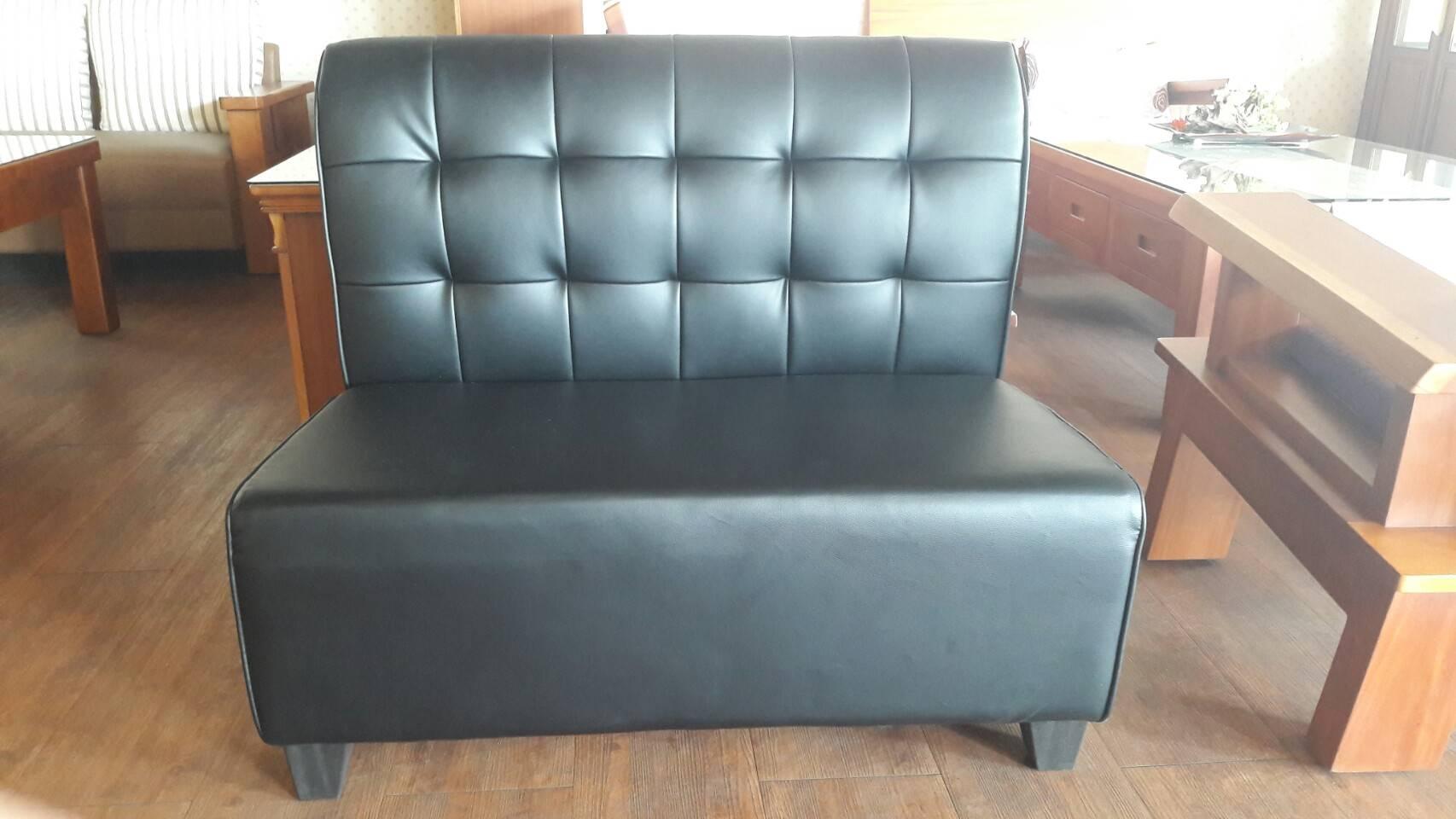 【尚品傢俱】881-26 黑捷克雙人無扶手沙發/家庭沙發/客廳沙發/會客沙發