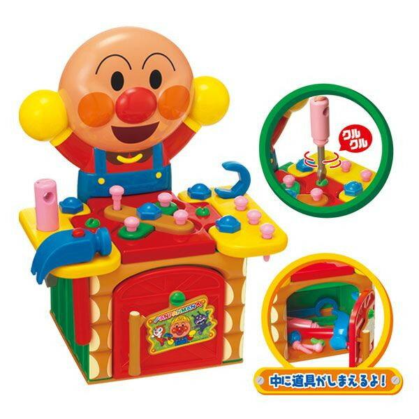 【真愛日本】17022600005工具箱玩具-ANP   Anpanman 麵包超人 玩具 正品 限量 預購