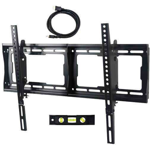 VideoSecu Heavy Duty Tilt TV Wall Mount for most Samsung 32-75 inch LED LCD HDTV Plasma with VESA 600x400/ 400x400mm BG3