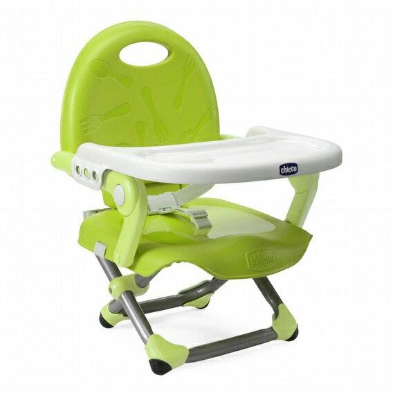 義大利【Chicco】Pocket Snack攜帶式輕巧餐椅 (萊姆綠)