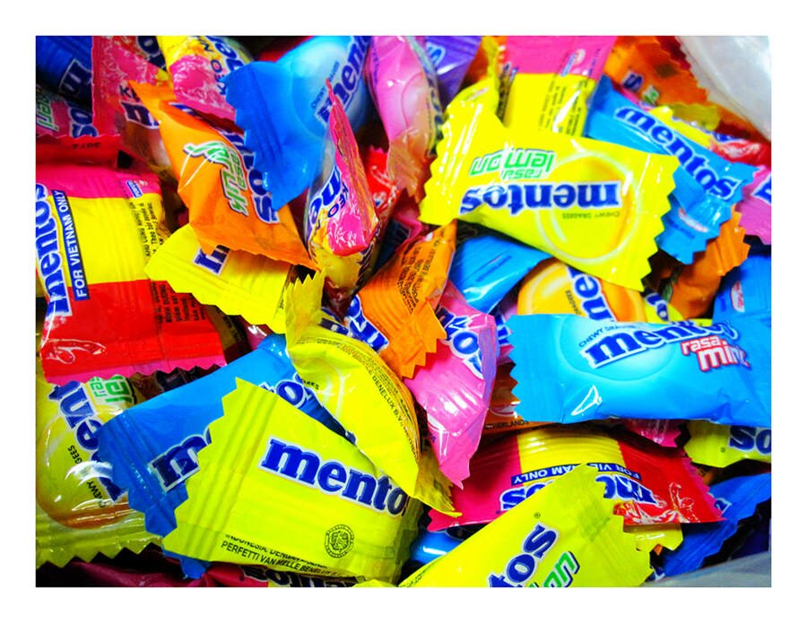 年貨大街 ‧散糖軟糖區‧ 曼陀珠綜合軟糖(單包裝) 300g(半斤)【合迷雅好物超級商城】