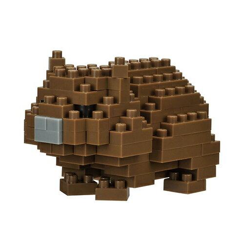 《NanoBlock迷你積木》NBC-256袋熊