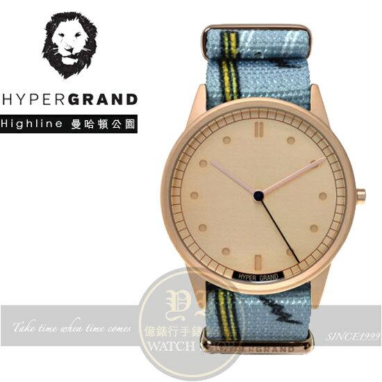 Hypergrand新加坡 前衛 品牌腕錶~曼哈頓公園NW01HIGH 貨