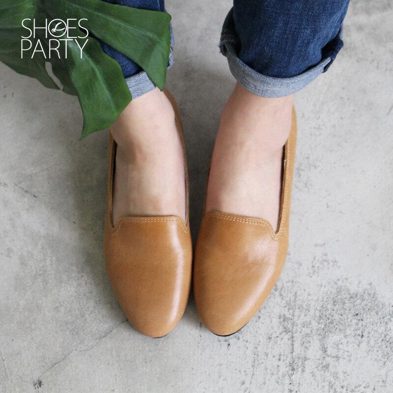 【C2-18307L】素面牛皮歐貝拉_Shoes Party 4