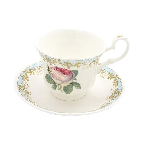 英國Roykirkham古典玫瑰系列-花茶杯盤組230ml(共3色可選)