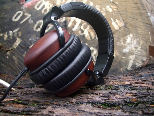 志達電子 AH~W100 亞立田 ALTEAM 發燒級紫檀木殼耳罩式耳機