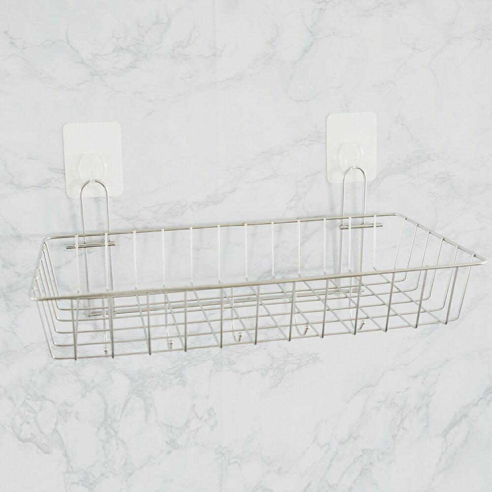 置物架 / 廚房收納 送無痕單勾-不鏽鋼多功能一層架附掛勾 MIT台灣製 完美主義【E0017】 3