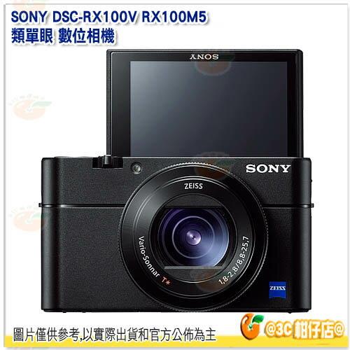 ★整點特賣★ SONY DSC-RX100V RX100M5 類單眼 數位相機 平輸繁中 一年保固 4K 大光圈 慢速錄影 RX100 五代