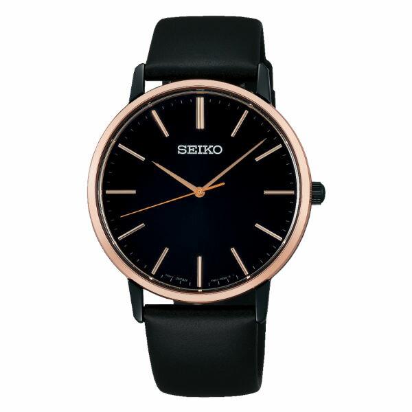 Seiko精工錶7N01-0JR0D(SCXP078J)PIRIT簡約都會時尚男錶黑38mm
