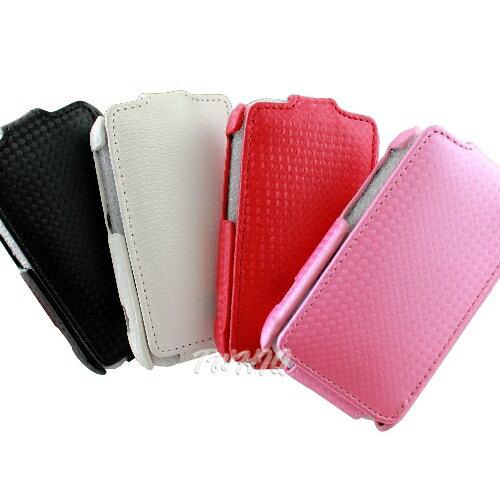 HTC Wildfire S 鑽石紋 下掀式手機皮套-吊卡包裝 ◆送很大!!! SEEHOT ATM智慧晶片+SIM+56 IN1 讀卡機◆