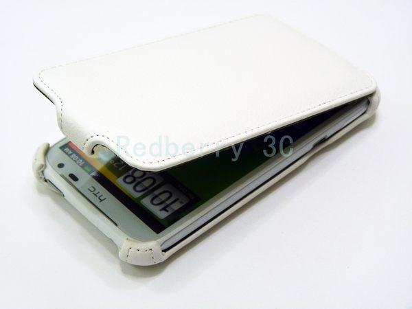 HTC Titan 泰坦機(X310E)下掀式/掀蓋式 手機皮套 荔枝紋限定款◆贈送! 專用型式 皮套/保護殼◆