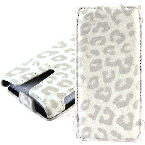 SONY Xperia SL LT26ii 豹紋 下掀式皮套 防撞包角限定款◆送很大!專用型螢幕保護貼◆