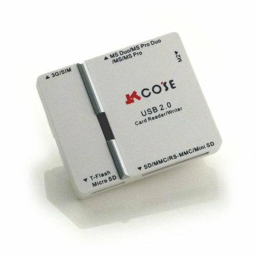 COSE SIM卡+43合一多功能讀卡機(CS-2204)『免運優惠』