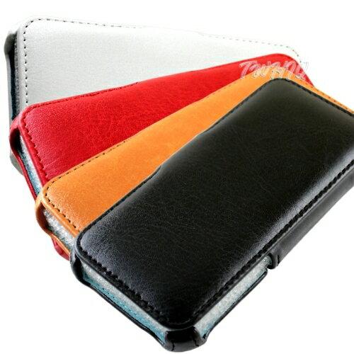 Apple iPhone 5 /5S 側掀(立架式)皮套◆贈送! iPhone 高容量1000mAh行動電源◆
