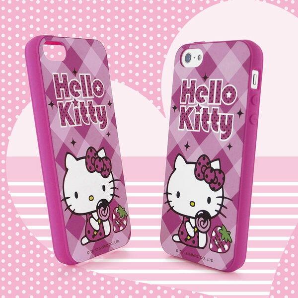Sanrio 三麗鷗 Hello Kitty iPhone 5 甜點下午茶系列軟式保護套~