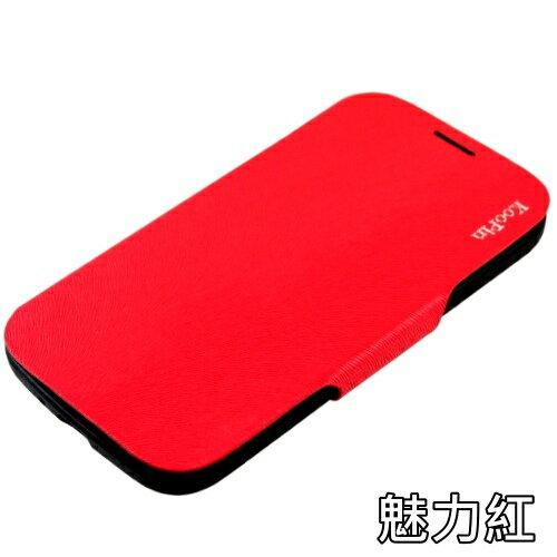 KooPin Apple iPhone 5C 貂紋薄型 可立式側掀皮套
