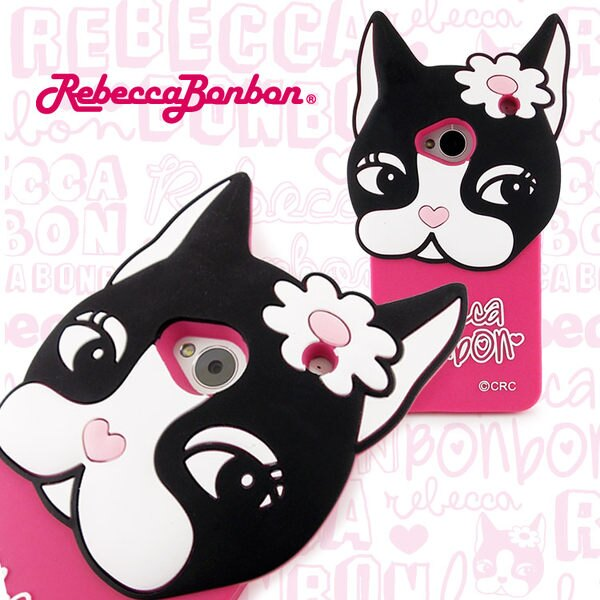【Rebecca Bonbon】NEW HTC ONE 立體 狗頭保護套
